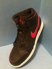 nike air jordan black/gym red gym white noir/ rouge gym/ blanc/