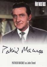 Women of Avengers Ultra Rare Patrick MacNee as Steed Incentive Auto Card