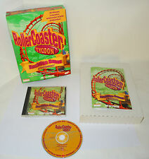 ROLLERCOASTER TYCOON BOCHTIGE BANEN complete pc Big Box videogame by Microprose