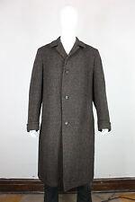 Hirsch hillcroft tweed top coat L jacket vintage 50's 60's wool long bespoke