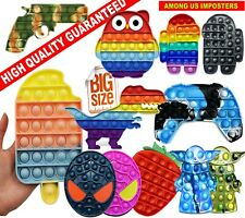 MIX DEALS EDUCATIONAL Push it Bubble Pop Fidget poppers Sensory Toy FOR AUTISM
