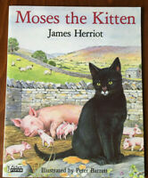 Moses the Kitten by James Herriot Paperback Book 1988 Childrens Animal Fiction