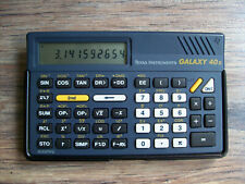 Texas Instruments RARE GALAXY 40x Calculator Taschenrechner Rekenmachine