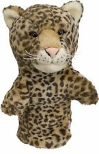 Leopard Golf Animal Headcover Driver Head Cover Daphnes Golf Club Cover