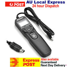 New LCD MC-DC2 Timer Remote Shutter Release cord for Nikon D90 D3100 OZ Seller