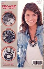 NEW DESIGN WORKS PIN ART JEWELRY KIT NECKLACE EARRINGS