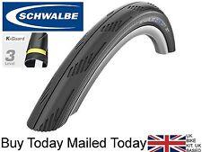 Schwalbe City Jet MTB Bike Slick Road Tyre 26 x 1.95 Black Anti-Puncture 40-559