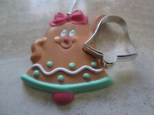 AVON VINTAGE*COOKIE CUTER CUTIES ORNAMENT**BELL**NEW NO BOX*OLD STOCK VERY RARE