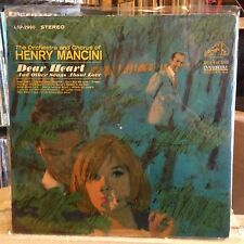 [SOUL/FUNK/JAZZ]~EXC LP~HENRY MANCINI~Dear Heart~And Other Songs About Love~1965