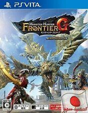 PS VITA Monster Hunter Frontier G Beginner's package