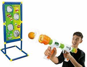 KIDS 2021 BEST CHRISTMAS GIFT AIR POPPER SOFT BALL FIRING GUN GAME SET