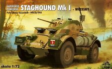 Staghound Mk I-Segunda Guerra Mundial automóvil blindado 1/72 RPM panzer