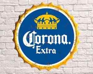 Corona 40cm Diameter Bottle Top Sign New