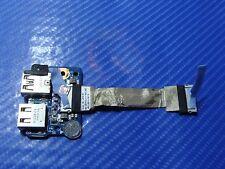 "HP Envy dv6t-7200 15.6"" Genuine Dual USB Port Board w/Cable 50.4ST03.011 ER*"