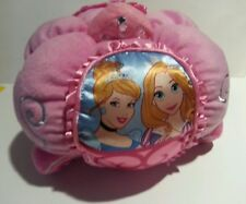 Disney Princess Away We Go Cuddle Pink Plush 3D Decorative Bed Pillow Ages 3+
