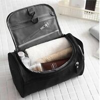 Travel Wash Bag Hanging Mens Toiletry Storage Shaving Cosmetics Adjustable Strap