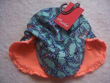 BNWT Toddler Girl's Mambo Butterflies Summer Legionnaire Hat OSFA