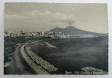 Vintage post card Postcard - Naples View of Town, Italy 1950's