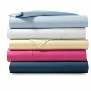 Ralph Lauren 464 Percale Standard Pillowcases $90 H Oxford Blue