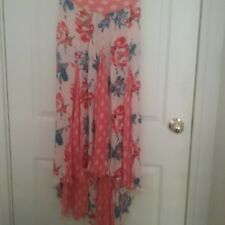 Free People skirt orange long size XS used and in good condition