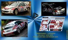 Décal 1/43 PEUGEOT 206 WRC CARBONARO CRITERIUM DES CEVENNES 2011