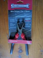 Sidchrome #28540 adjustable multi sizes wire stripper plier 170mm made in France