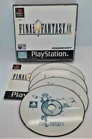 Final Fantasy IX 9 Video Game for Sony PlayStation PS1 PAL TESTED