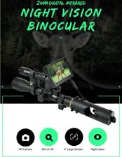 Hunting Scope Night Vision Display Laser IR Pointer Distance Point