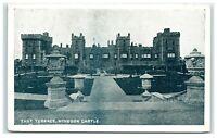 Vintage Picture Postcard East Terrace Windsor Castle Berkshire