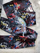 Brand New Tooniforms Marvel Avengers Small Youth's V-Neck Top and Pant Scrub Set