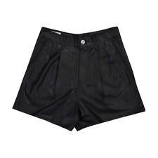 Levi's Premium Women's High Rise Faux Leather Shorts