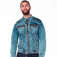 CIPO /& Baxx Blackpool Messieurs Jeans Veste Gilet Denim cj155 toutes les taille NEUF