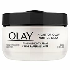 Olay Night of Olay Firming Night Cream Face Moisturizing 1.9 fl oz (Pack of 3)