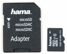 16 GB MicroSD Memory Card (W/ MicroSD to SD Adapter) for Nvidia Shield K1 Tablet