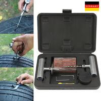 37-tlg.Reifenreparaturset Reifen Reparatur Flickzeug Pannenset Auto PKW Werkzeug