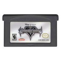 Kingdom Hearts: Chain of Memories (Nintendo Game Boy Advance, 2004) us based
