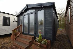 2022 Sunrise Lodge Deluxe   Barn Style 38x13   2 beds   Fully Winterised