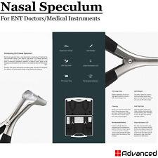 Medical Ent Nasal Speculum Kit Led Light Diagnostic Equipment For Adult Amp Child