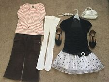 Girls Clothes Size 5 Dress,Top,pants,Tights Lot Gymboree,Old Navy,Place,IZ byer