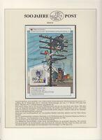 Berlin - Ausstellungsblock - Internationale Postgeschichtliche Tage Sindelfingen