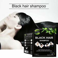 5PCS/Lot Black Hair Shampoo Natural Plant Fast Hair Dye Coloring Only 5 Minutes