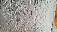 New Royal Velvet Embroidered Pillow Sham Taupe Size ~ Standard $45