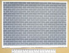 "G gauge (1:24 scale) "" Dressed block stone ""  paper - A4 sheet"