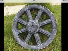LATEX ONLY MOULD WAGON WHEEL 50CM TALL ORNAMENT MOULD