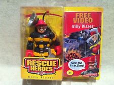 Rescue Heroes FireFighter  Billy Blazes! FACTORY SEALED