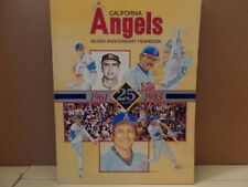 CALIFORNIA ANGELS 1985 YEARBOOK - 25th Anniversary (Rod Carew, Reggie Jackson)
