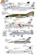 Wolfpak calcomanías 72-087 el diablo me hizo hacerlo un avión de combate F-4 F-16 Eagle Phantom Falcon
