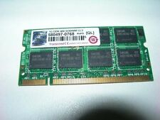 Barrette mémoire 1 GO Transcend SO-DIMM DDR PC3200