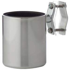 Diamond Plate™ Universal Stainless Steel Motorcycle Cup Holder