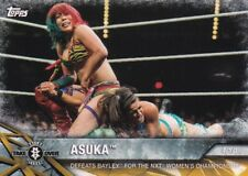 2017 Topps Wwe Women's Division Trading Card, Momments #NXT-14 Asuka